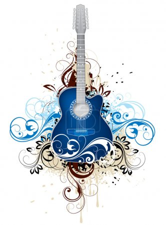 Abstraction with a guitar