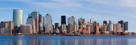 Photo pour New York - gratte-ciel de Manhattan - image libre de droit