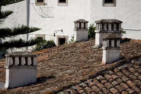 Rooftops of portugal
