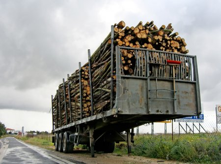 Trailer stacked