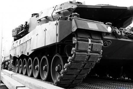 Armored Tank Vehicle