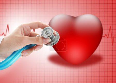 Photo pour Concept d'assurance maladie. - image libre de droit